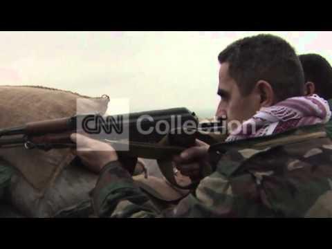 PESHMERGA-ISIS FRONTLINE IN NORTHERN IRAQ