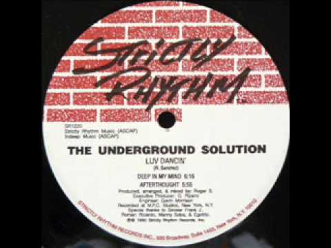 Underground Solution-Deep In My Mind-Strictly Rhythm-1990
