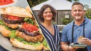 Pork Burgers with Darren Gough
