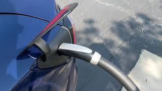 Taking an electric car on a long road trip
