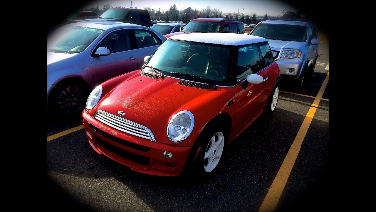 2002 mini cooper 1.6l 5mt start up, quick tour, & rev with exhaust