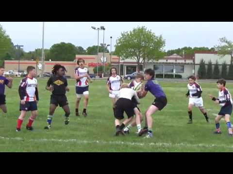 (WI-17′) Middle School Rugby – Wisconsin 7's Series in Fond Du Lac (Highlight Reel) 5/20/17