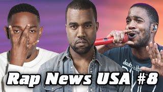 RapNews USA #8 [Kid Сudi, Kendrick Lamar, Kanye West]