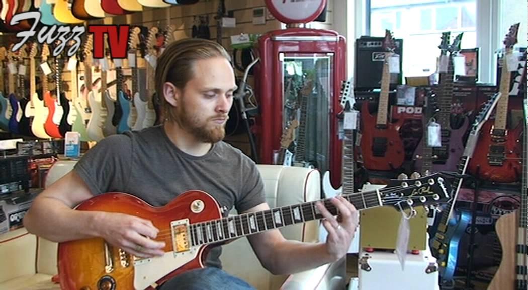 Fuzz Guitars: Epiphone Les Paul Standard Plus Top Pro in Heritage Cherry