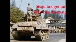 Gambar cover Lagu Wajib Nasional - Maju Tak Gentar