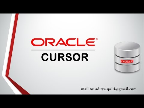 PL/SQL tutorial : Cursor in Oracle Database 11g Complete guide