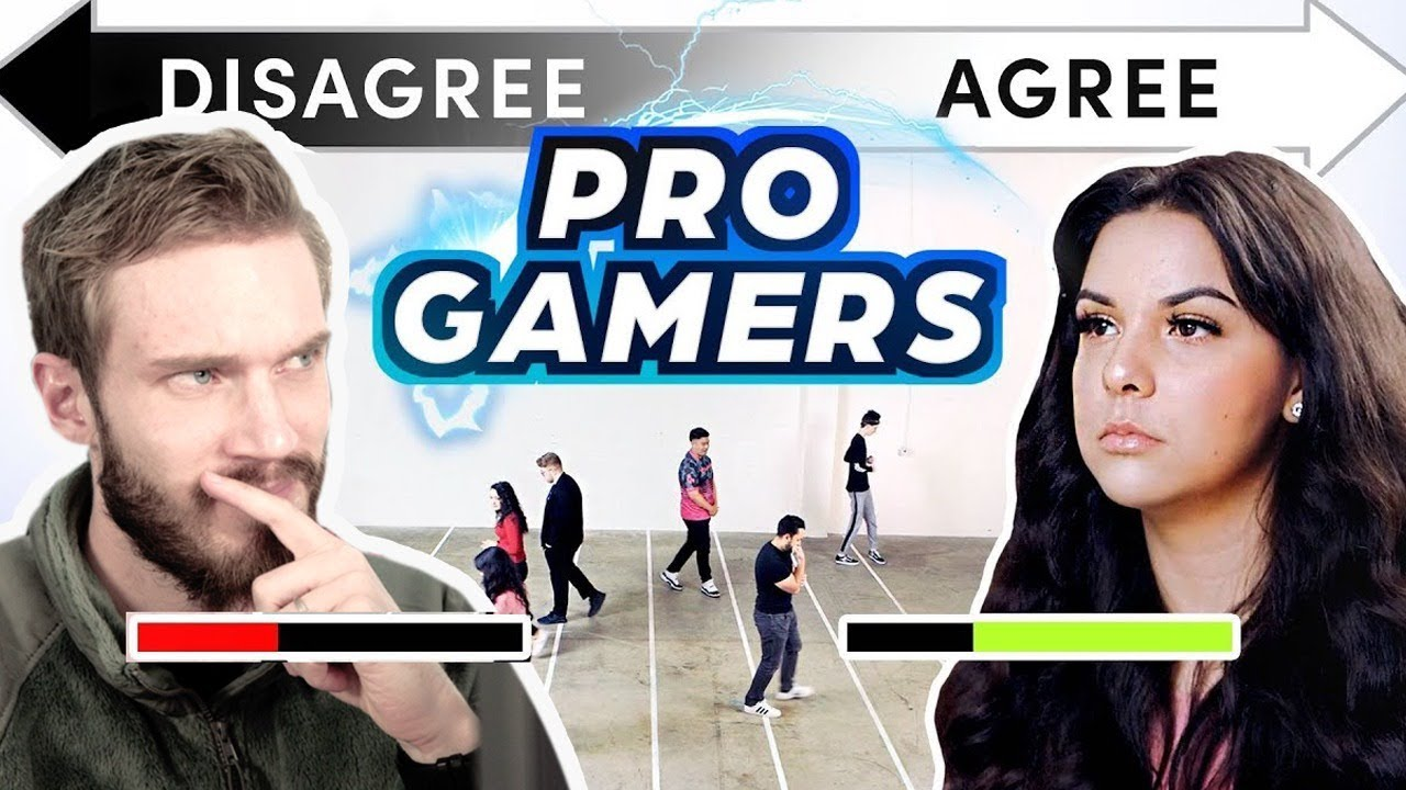 Do all GAMERS THINK the Same? — PewDiePie