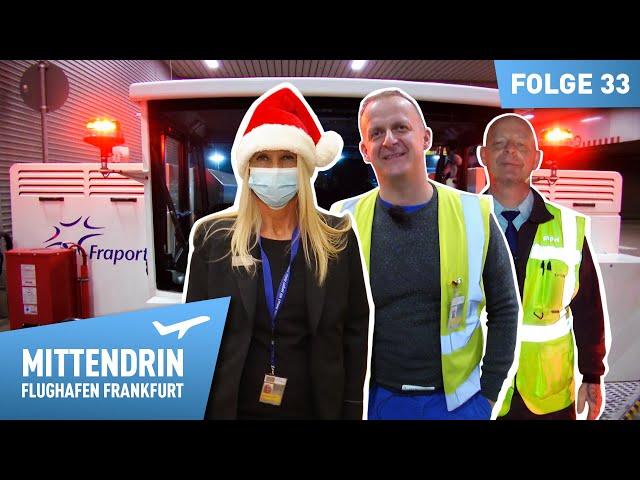Weihnachten am Flughafen - Drama, Trost und Hoffnung | Mittendrin - Flughafen Frankfurt (33)
