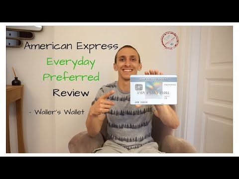 American Express Everyday Preferred Review- Waller's Wallet