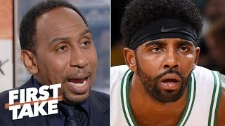 Stephen A.: Celtics' depth beyond Kyrie Irving is NBA's biggest storyline | First Take