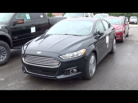 2014 Ford Fusion Titanium Interior Amp Exterior Tour Youtube