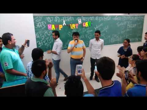 Nahata Indore, Sharad Sir, Aseem Sir singing