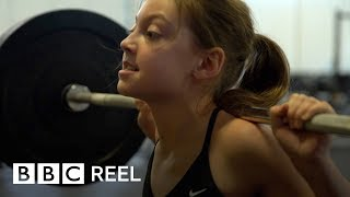 The 12-year-old who can lift 120 pounds - BBC REEL