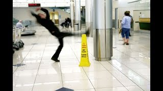 people slipping