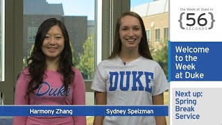 ArtCon; Baboon Poo: The Week at Duke {in 60 Seconds}