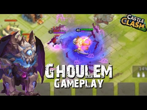 Castle Clash Ghoulem Gameplay (In Action)