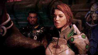 Commander Shepard being Brutally Bitchy (Mass Effect 2)