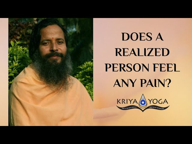 Does a Realized Person Feel Any Pain?