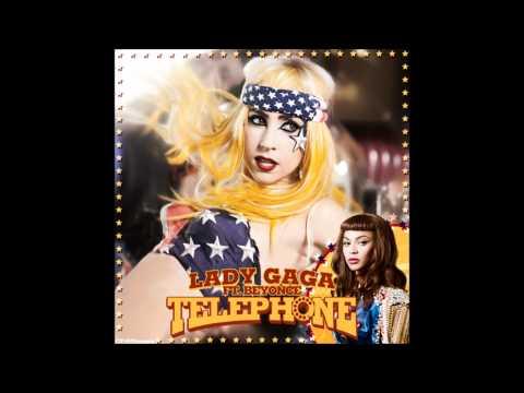 Lady Gaga - Telephone Karaoke / Instrumental with backing vocals and lyrics