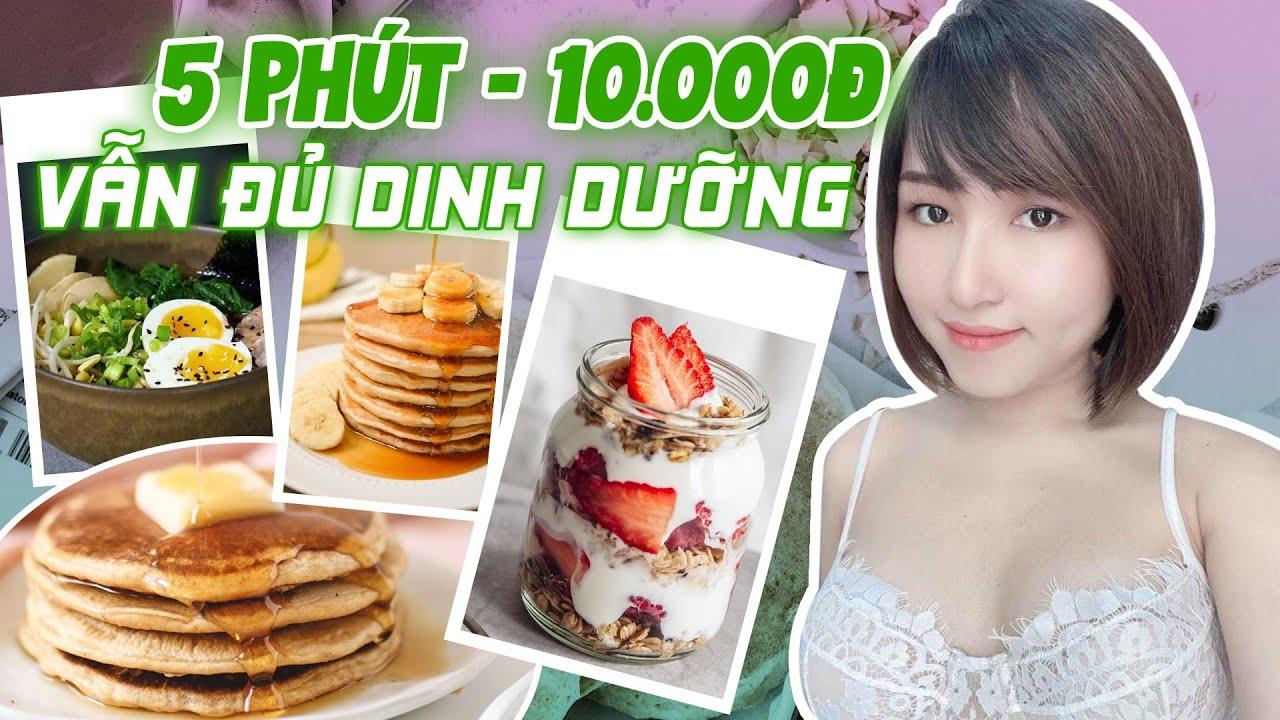Bữa Sáng Eat Clean Chỉ 10.000đ