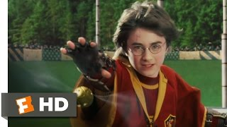 Harry Potter And The Sorcerer's Stone (4/5) Movie CLIP - Catching The Snitch (2001) HD