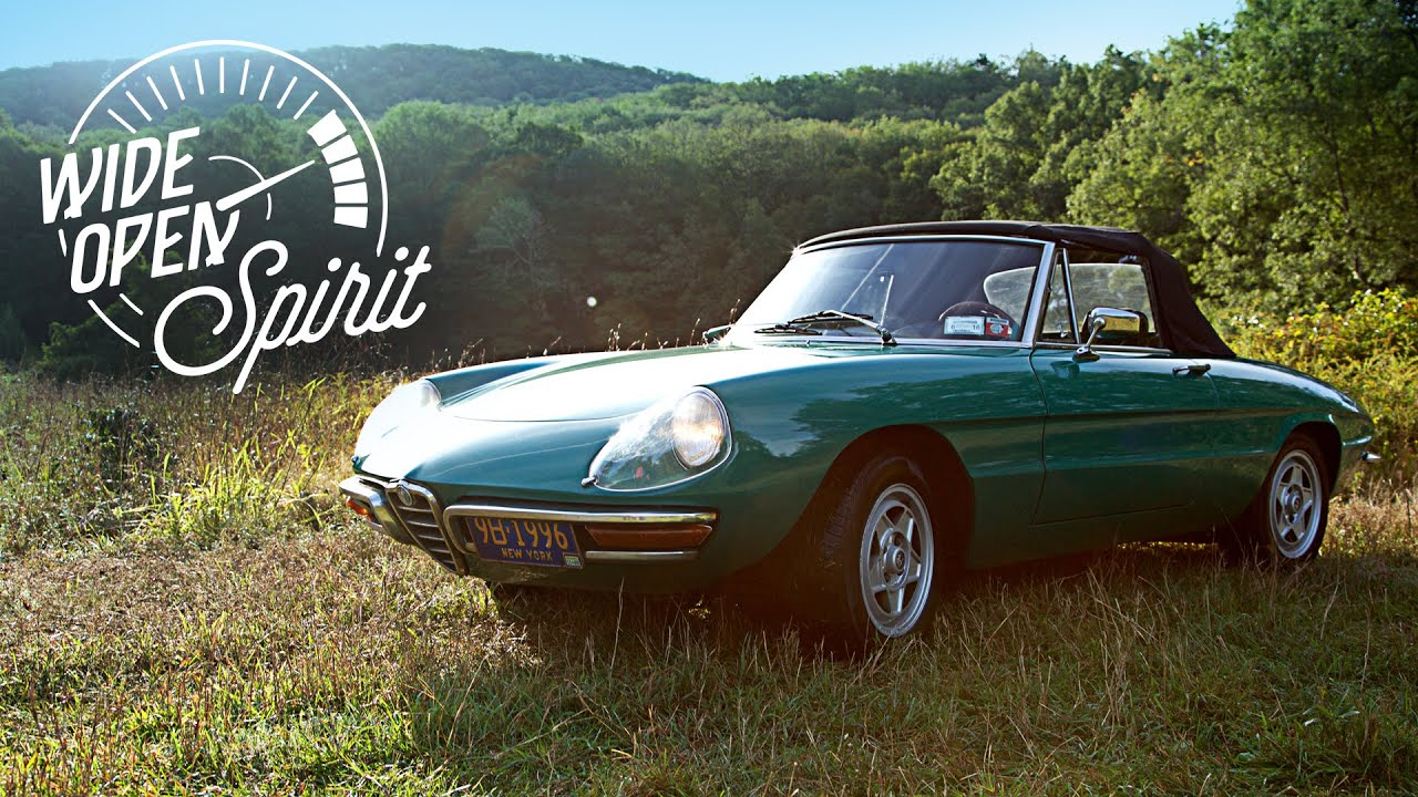 This Alfa Romeo Spider Is A Wide Open Spirit Youtube