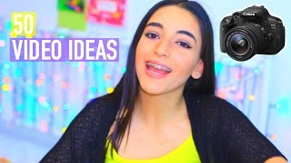 50 VIDEO IDEAS FOR  BEAUTY/LIFESTYLE GURUS! | StyleMeMaskit