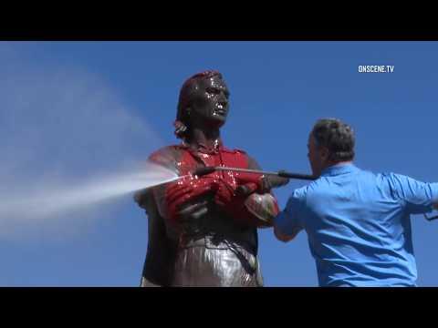 Chula Vista: Statue Vandalized 02242019