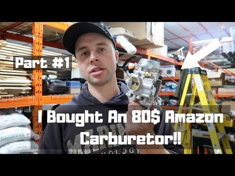 Chinese Carb On A King Quad 300 Review Part#1 (Will It Work?)
