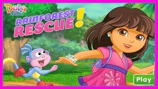 Dora the Explorer - Dora and Friends - Rainforest Rescue Game for kids