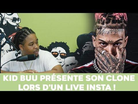 Kid Buu présente son clone lors d'un live Instagram !