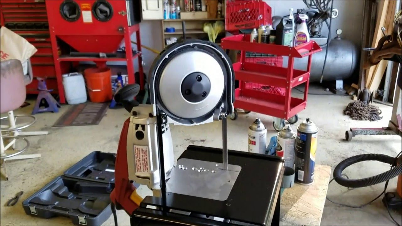 Harbor Freight Band Saw And Swag Offroad Stand