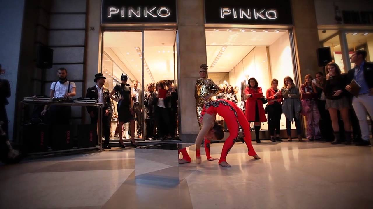 pretty nice f65fc a32cd PINKO STORE TURIN REOPENING PARTY WITH DJ SET AND CIRCO NERO