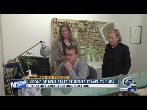 Kent State students travel to Cuba