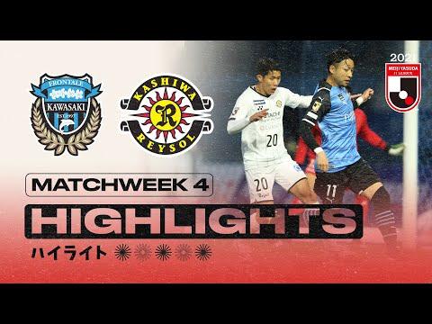 Kawasaki Frontale Kashiwa Goals And Highlights