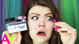 24 Hours Wearing Magnetic Eyelashes For The First Time / AllAroundAudrey