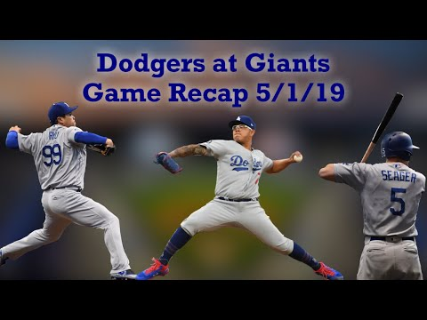 Dodgers At Giants Game Recap - Dodgers Drop The Series Finale After Offense Only Scores One Run