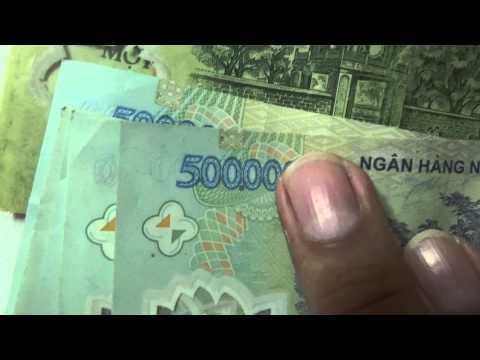 การคำนวนเงินเวียดนาม เงินดอง