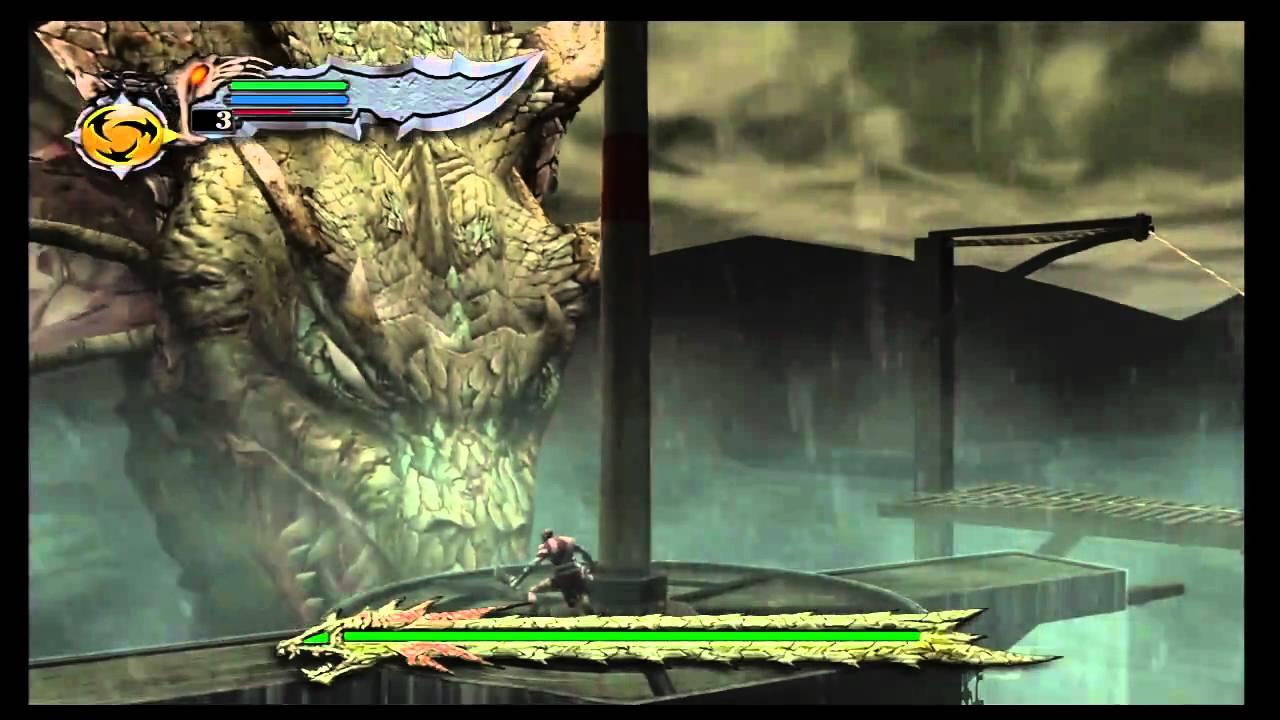 God of War Walkthrough Hydra battle - YouTube