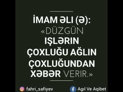 Imam əli ə Kəlamlari 2020 Youtube