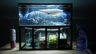 Aquarium model 10 - Mini Arowana Fish Tank/ Make Arowana Fish Tank