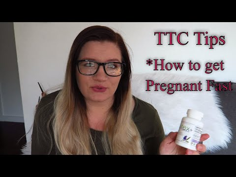 What I Did The Month I Got Pregnant ~ Trying To Conceive Tips