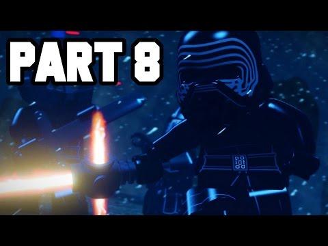 THE KNIGHTS OF REN!! LEGO Star Wars The Force Awakens Gameplay Walkthrough Part 8
