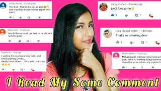 I Read My Some Comments || Thanks For Love❤ And Hate😈