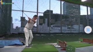 2画面再生でプロゴルファーと徹底比較!無料ゴルフスイングチェックアプリ | ダブルアップ | DoubleApp
