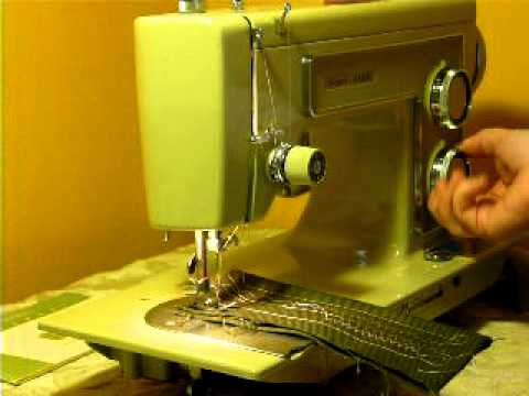 CLEAN VINTAGE KENMORE MODEL 40 SEWING MACHINE YouTube Extraordinary How To Oil My Kenmore Sewing Machine