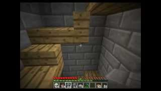 Minecraft - How to Construct a Castle - part 2: Castle Wall and Corridor (Builder