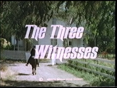 THe THree Witnesses (Of THe Book of Mormon, Part 1)