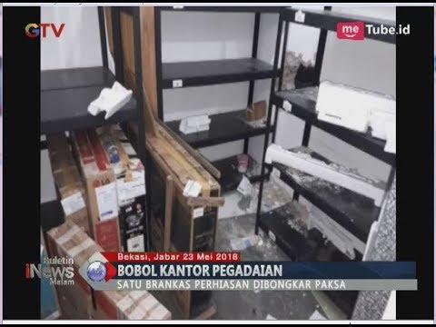 Polda Metro Buru Pembobol Spesialis Kantor Pegadaian - BIM 23/05
