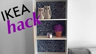 Ikea Hack | Spice Up Your Bookshelf